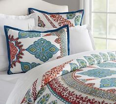 Aurora Duvet Cover & Sham - Just the standard sham to go with the other bedding we have chosen.
