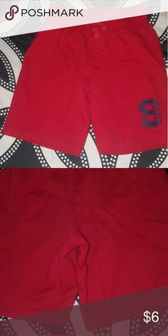 Toddlers size 3T shorts Toddlers size 3T red shorts. Smoke free and pet free home good condition. Bottoms Shorts