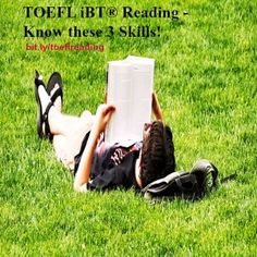 Improve Your #Reading on the #TOEFL iBT! Get resources, tips, and videos to be ready for the big exam day!