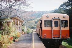 上総大久保 by ktakako25, via Flickr #japan #Japanese #train