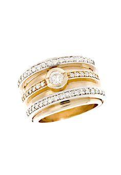 zsazsasitlist:    beautiful  more detail here:Effy Jewelry Diamond Ring, .91 TCW