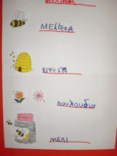 5ο Νηπιαγωγείο Τρίπολης: Μέλισσα Bullet Journal, Blog, Insects, Blogging