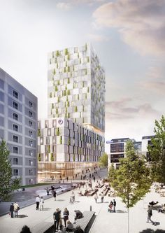 Gallery of RKW Architektur + Wins Competition for Stone-Clad Mixed-Use Building in Stuttgart - 2