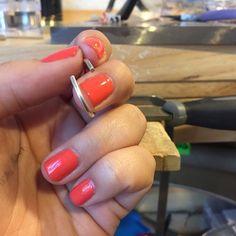 @aragoncollection This manicure won't last long! #metalsmith #jewelry #custom #love #joy #metal #hammertime #fashion #ootd #fashionblogger #stylist #handmade #local #colorado #milehigh #milehighstyle #fashionista #accessoryjunkie #chic #beautiful #coloradomade #instasmithy #siversmith #riojeweler #makersyoushouldfollow #coloradomaker #ilovefashionbloggers #style #metalsmith