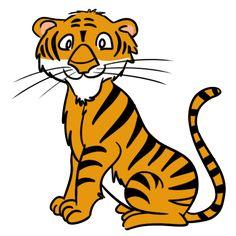 tiger cartoon pics tiger paw cut image vector clip art online rh pinterest com clip art tigers clip art tigers
