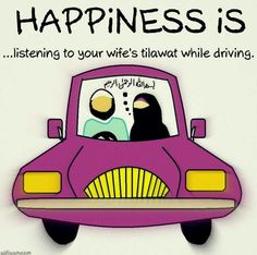 #Happiness for #Muslim husband and wife.  {http://www.PureMatrimony.com/}