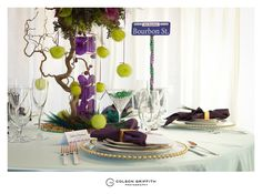 Image detail for -New Orleans Themed Wedding Table - A wedding vendors challenge ...