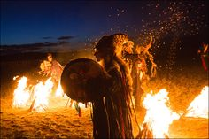 Where ancient shaman traditions are alive in the modern world