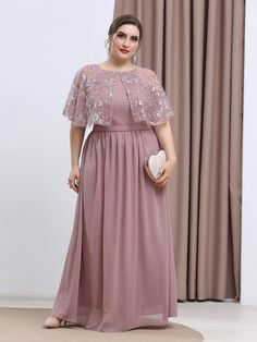 Bridesmaid Dresses Plus Size, Evening Dresses Plus Size, Plus Size Maxi Dresses, Plus Size Outfits, Pakistani Dresses Casual, Indian Fashion Dresses, Big Size Fashion, Hijab Evening Dress, Big Size Dress