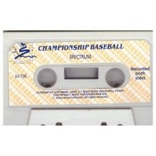 Championship Baseball Tape Only for ZX Spectrum from Alternative Software