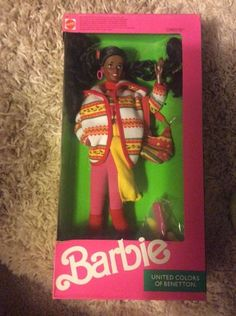 Barbie 1990 ~ United Colors of Benetton Edition (Mattel #9407- Christie) | eBay