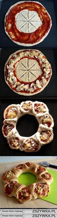 Que buena pizza!!!.