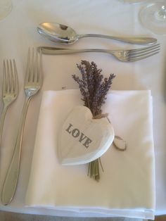 Dried lavender bunches placed on a napkin  Bijouxfloral.co.uk