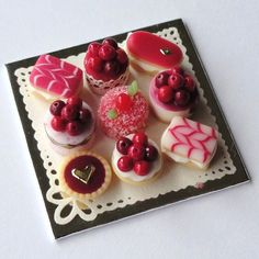 Luxury Cherry Cake Selection. £18.00, via Etsy.