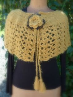 capelet , tuto in french by Miss bidules chouettes