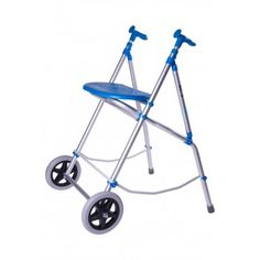 Andador de dos ruedas ARA-E para interiores. Andador plegable, con asiento de anchura media y disponible en varios colores. #andador #dosruedas #adulto #mayores #plegable #asiento #interiores #ortopedia #ortopediaonline