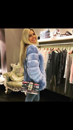 Our 'Candy' jacket #fauxfur is one of the best sellers . #shopping
