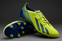 adidas adizero F50 TRX FG Leather - Electri/Hero Ink/Silver UK 9 #pdsmostwanted
