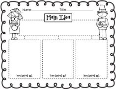 math worksheet : 1000 images about literacy  main idea on pinterest  main idea  : Main Idea Worksheets For Kindergarten