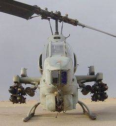 AH-1WSC of MMH-263 loaded for a mission