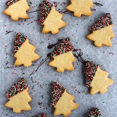 Christmas cookies just taste better during the Christmas season.