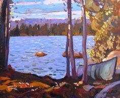 Garth Armstrong - Hombone Lake Algonquin (2) 8 x 10