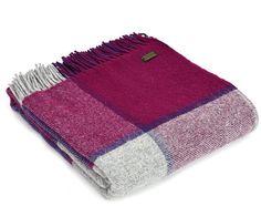tweedmill-throw-block-check-fuchsia-pure-new-wool