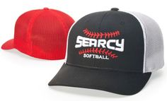 d76198671c24b Richardson 110 Cotton Twill   Mesh Back FlexFit Baseball Cap. Homegrown  Sporting Goods