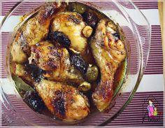 Pui cu masline si curmale Chicken Wings, Meat, Cooking, Food, Cucina, Kochen, Essen, Cuisine, Yemek