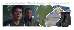"""""""Imagine the Sheriff and Stiles Finding Out that You're a Werewolf"""" by xdr-bieberx ❤ liked on Polyvore"""