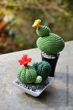 crochet amigurumi cactus - airali handmade: