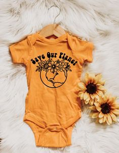 Save our planet save the earth – save the planet – mother earth – hippie shirts – baby clothes – baby outfit – hippie kids – vegan – planet based – global warming – save the animals- no planet b - Cute Adorable Baby Outfits Hippie Baby Clothes, Cute Baby Clothes, Neutral Baby Clothes, Babies Clothes, Babies Stuff, The Animals, Hippie Shirt, Baby Outfits, Toddler Outfits
