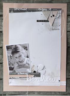 Scrapbooking A4 | Challenge