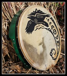 Raven Bodhran Design by SageKorppi on DeviantArt