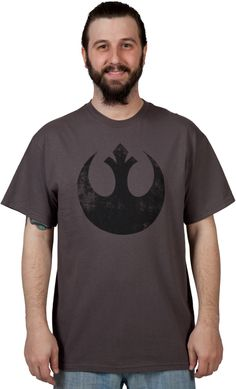 Distressed Rebel Star Wars Shirt