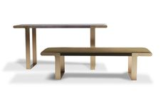 Arica Bench : Dennis Miller Associates Fine Contemporary Furniture, Lighting and Carpets in NYC