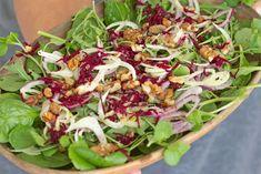 Salada de folhas verdes com funcho e beterraba | GlutenFree com paixãoGlutenFree com paixão | Sem Glúten Portugal