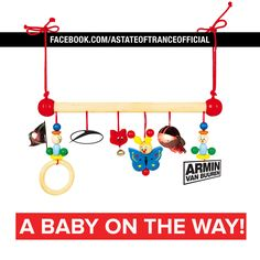 having a baby Baby Vans, Armin Van Buuren, Baby On The Way, Having A Baby, Trance, Dance Music, Edm, New Baby Products, Congratulations