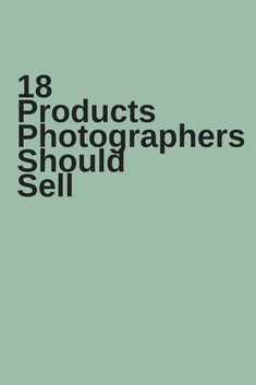 photography products
