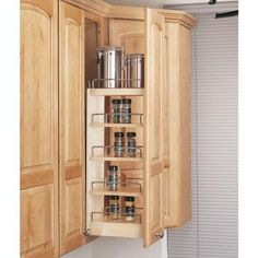 Rev-A-Shelf 8 in. Wall Cabinet Organizer-448-WC-8C at The Home Depot
