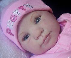 Holly PRICE REDUCED Custom Reborn Doll by Donna Rubert Little Darlins Nursery Rita Meese Artist on Etsy, $182.09 AUD