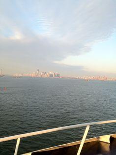 Cruising from NYC #smirnoffsorbet