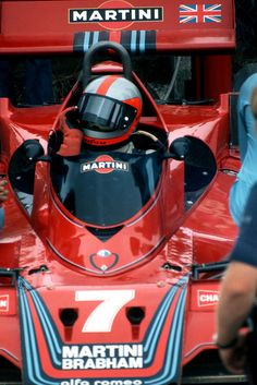 The Brabham was Irishman John Watson's ride in 1977 F1 Racing, Racing Team, Road Racing, Le Mans, Win Car, F1 2017, Martini Racing, Formula 1 Car, Alfa Romeo Cars