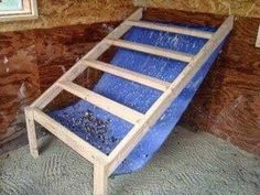 Chicken Coop - Building a Chicken Coop - Poop hammock under roosts in chicken coop Building a chicken coop does not have to be tricky nor does it have to set you back a ton of scratch. Building a chicken coop does not have to be tricky nor does it have to set you back a ton of scratch.