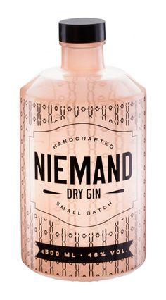 Niemand Dry Gin - Designer Unknown