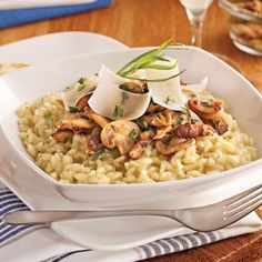 Risotto à la milanaise Bento, Quinoa, Healthy Recipes, Healthy Meals, Yummy Recipes, Macaroni And Cheese, Crockpot, Slow Cooker, Pork Chops
