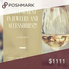 Looking for Host Picks!! Hey everyone. I'm going to be hosting the Best in Jewelry and Accessories party on 11/26 and am looking for Host Picks! Please tag me on an item that you would like me to consider :) Posh compliant closets only please! Jewelry