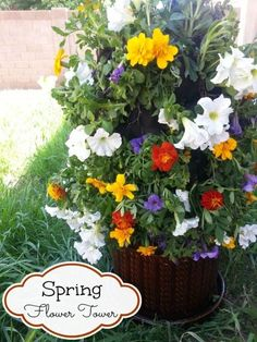 How To Make A  Growing Flower Tower by rachelpp