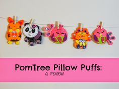 Play Eat Grow: {Review} PomTree Pillow Puffs: A Craft for A Rainy Afternoon