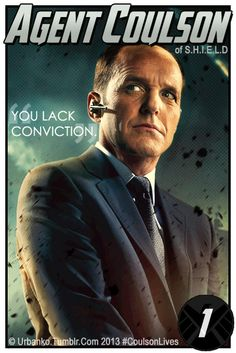 Agent Coulson trading cards